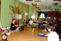 ANXIETY WORKSHOP AT YOGA WELL 03.19.11 sharing