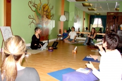 ANXIETY WORKSHOP AT YOGA WELL 03.19.11